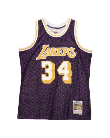 Mitchell & Ness - Wilde Life Swingman Shaquille O'Neal Los Angeles Lakers 1996-97 - Purple / Yellow