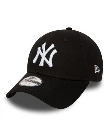 New Era - New York Yankees Casual YOUTH Curved Cap - Black / White