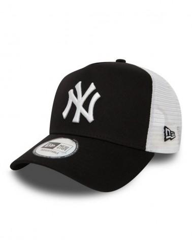 New Era - New York Yankees A-Frame Trucker Cap - Black / White