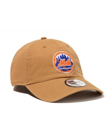 New Era - New York Mets League Essential Curved Cap - Brown