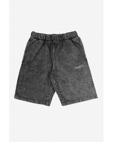Wasted Paris - Signature Washed Shorts - Black