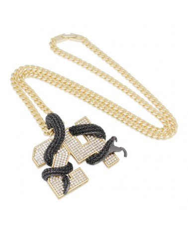 King Ice - Black Mamba Number 24 Necklace - Gold