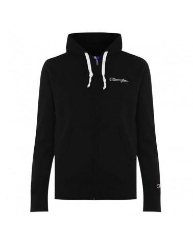 Champion - Embroidery Full Zip Hoody - Black