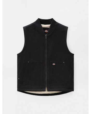 Dickies Life - Duck Canvas Vest - Black