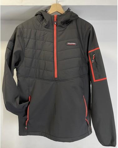 Nautica Competition - Ezile Hybrid Jacket - Black/Red