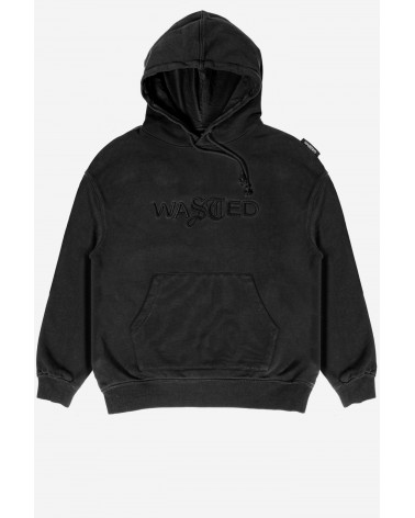 Wasted Paris - Chill Signature Faded Hoodie - Black