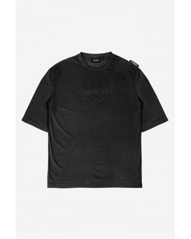 Wasted Paris - Chill Signature Faded T-Shirt - Black Washed