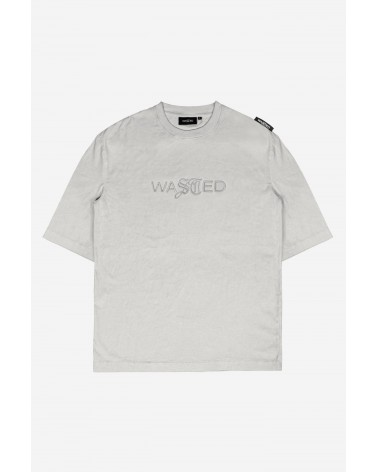 Wasted Paris - Chill Signature Faded T-Shirt - Fog White