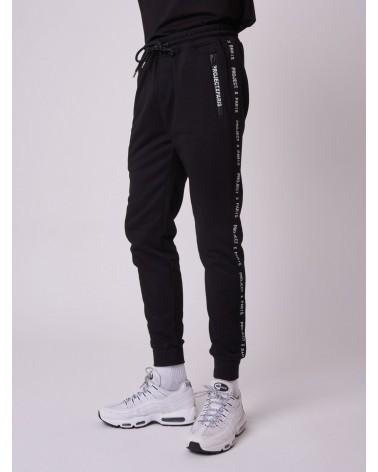 Project x Paris - Logo Basic Zip Jogger - Black